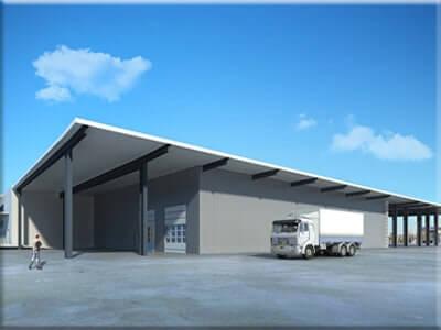 Ihr neue Halle oder Lagerhalle für Ihr Unternehmen